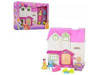 Детский домик для кукол с мебелью