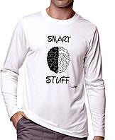Smart Stuff - Футболка Мужская с длинным рукавом (лонгслив) с Дизайном