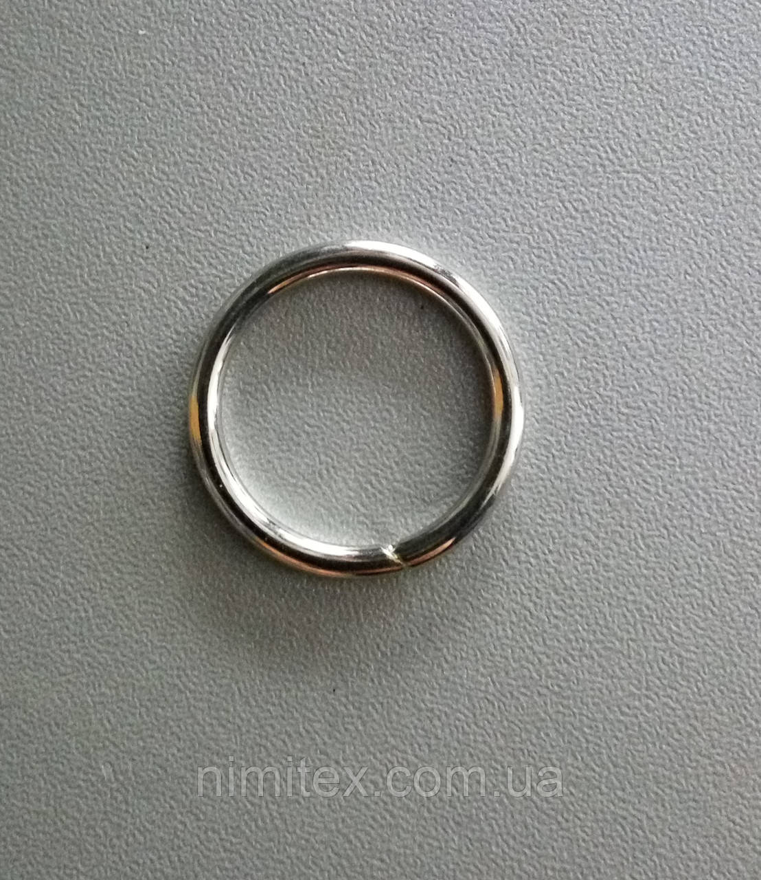 Кільце металеве зварне 20 мм нікель