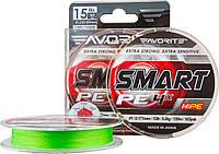 Шнур Favorite Smart PE 4x 150м (салат.) #0.5/0.117мм 3.6кг