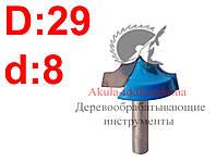 D29 h14 d8 Фреза Karnasch пазовая фасонная фреза