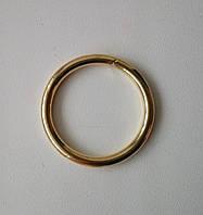 Кольцо литое сварное 25 мм, золото