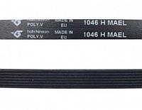 Ремень 1046 H7 EL приводной для стиральной машины Indesit Индезит C00064598 Hutchitson