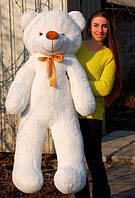 Мишка плюшевый белый 160 см