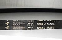 Ремень 1280 J5 EL приводной Hutchinson для стиральной машины Zanussi Занусси 1240211209, 1108786003