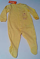 Комбинезон Для малышей Желтый 86 см 7 м. Интерлок 03077001136 КБ77в Бэмби Украина