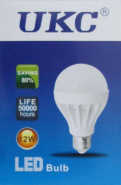 Led Лампа лампочка Ukc 12W, E27