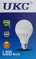 Led Лампа лампочка Ukc 3W, E27