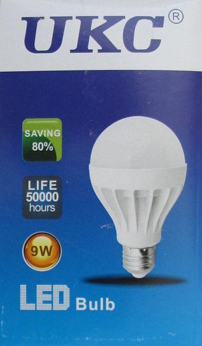 Led Лампа лампочка Ukc 9W, E27