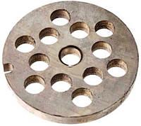 Решетка, сито, сетка (большая) 8 мм. для мясорубки Зелмер Zelmer №5, NR5 Zelmer 86.1242, 861242