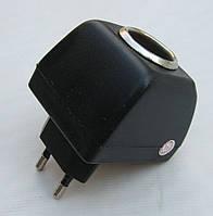 Адаптер вилка 220V - прикуриватель 12V