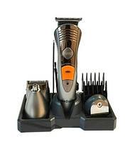 Аккумуляторная машинка для стрижки  Brown Mp-5580,  7 в 1 (набор для стрижки волос и бороды), фото 1
