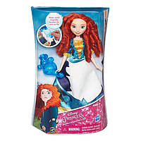 Модная кукла Принцесса Мерида в юбке с проявляющимся принтом Hasbro