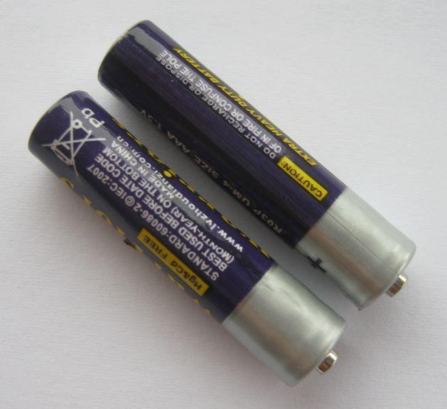 Батарейки ааа (2шт)