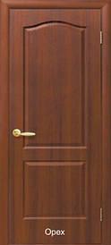 Дверное полотно Классик глухое пвх De luxe