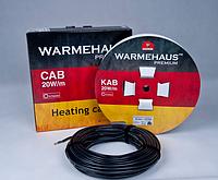 Двужильный нагревательный кабель Warmehaus CAB 20W UV, 1840 Вт, площадь обогрева 4,6 — 12,3 м²