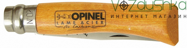Cкладной нож Opinel 7 VRN (Carbon)