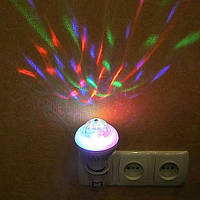 Большая двухрежимная вращающаяся диско лампа 8W; Е27; 12*7,5см