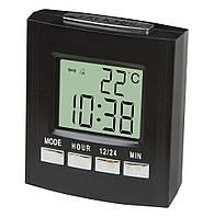 Говорящие настольные часы VST-7027C, с термометром, фото 1