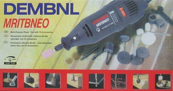 Гравировальная машинка Dembnl Mritbneo-395 (аналог Dremel)