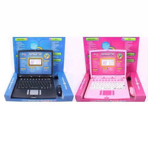 Детский русско-английский ноутбук Jt-7160 (Jt-7161) с цветным экраном