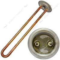 ТЭН 1,3 кВт для бойлера медь фл. d64, U-образный, под анод М4