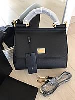 """Еллегантная женская сумочка DOLCE&GABBANA """"Sicily"""" натуральная кожа (реплика), фото 1"""