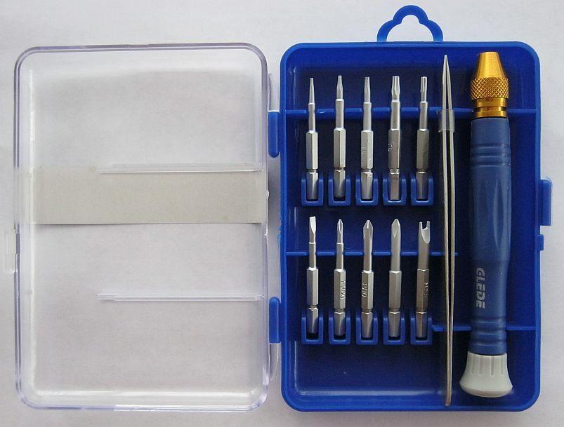 Качественный набор с пинцетом Glede-20330, 12 в 1