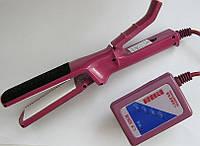 Керамічний випрямляч для волосся Renjie 1015A з регулятором потужності і температури, фото 1