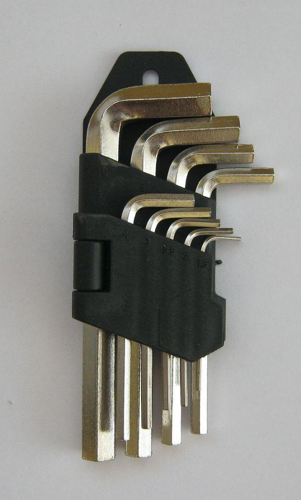 Ключі шестигранні набір 9 шт