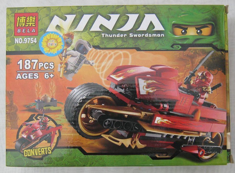 Конструктор Ninja 9754 (187предметов)