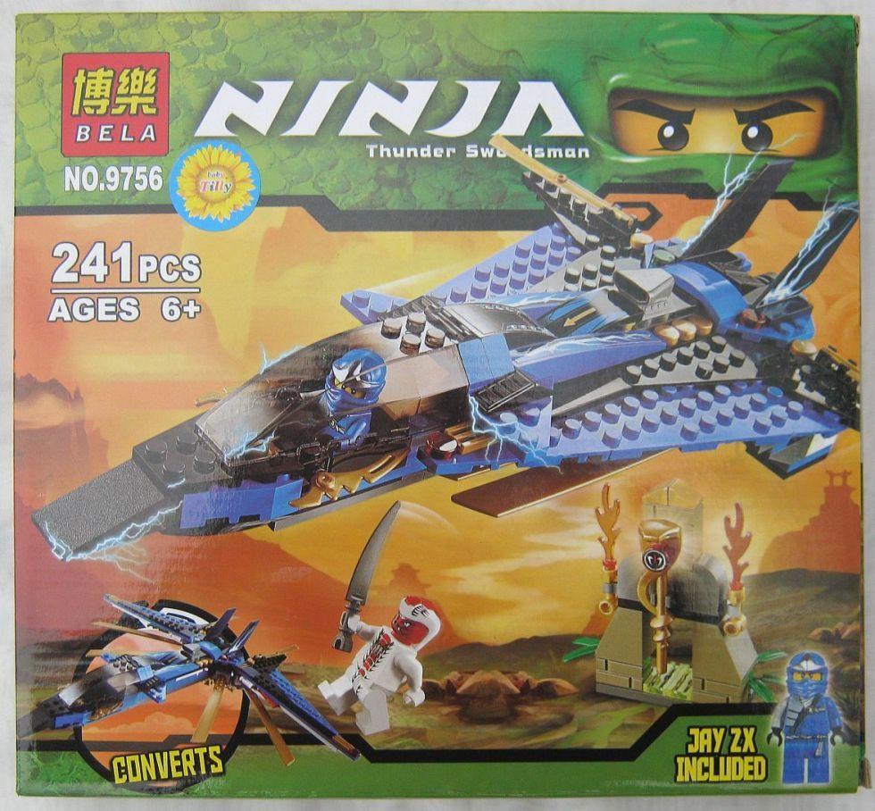 Конструктор Ninja 9756 (241предмет)