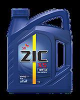Полусинтетическое моторное масло Zic 10w-40 X5 4l