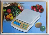 Кухонные весы Sf-400a с подсветкой до 7 кг