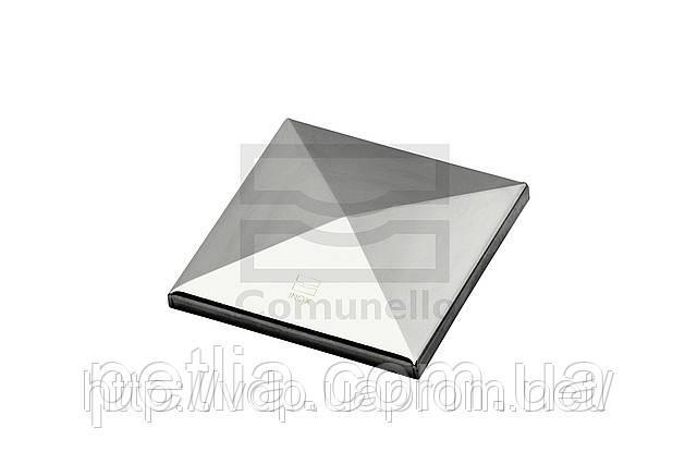 Колпачок квадратный из нержавеющей стали