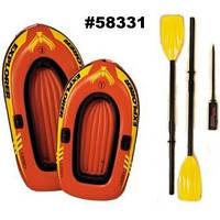 Лодка EXPLORER 58331, весла, насос