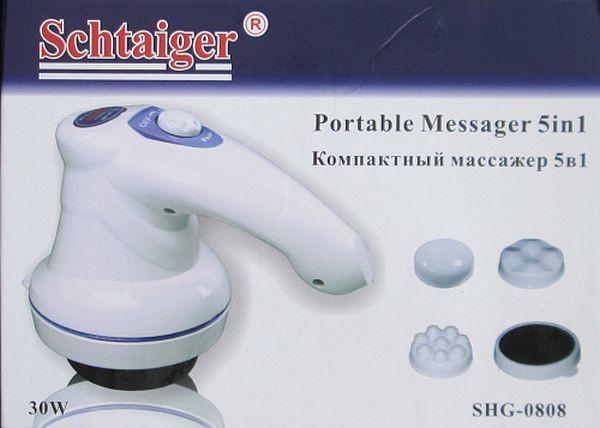 Антицелюлітний масажер Schtaiger Shg-0808