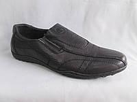 Подростковые туфли на мальчика оптом 36-41 р. спортивного фасона с прострочками