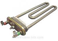 Тэн нагреватель для стиральной машины 1800W 19см, Indesit  Ariston 066284, Electrolux 50681360009, Ardo651016499