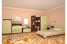 """Модульная комната """"Kiddy"""" №1 (орех темн.+ваниль)"""