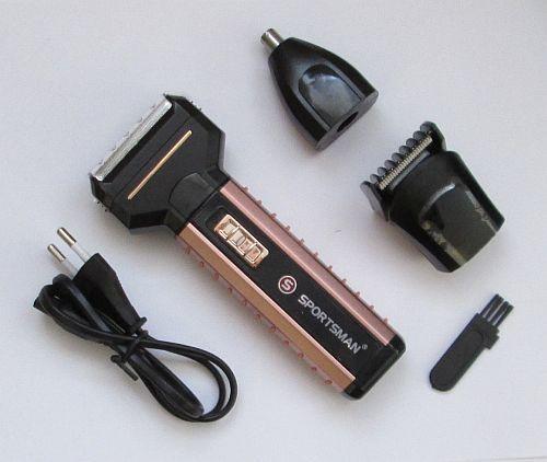 Машинка для стрижки, электробритва, триммер Sportsman Sm-501