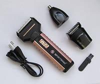 Машинка для стрижки, электробритва, триммер Sportsman Sm-501, фото 1