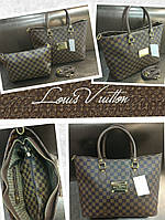 Модная сумка Louis Vuitton Луи Виттон коричневая