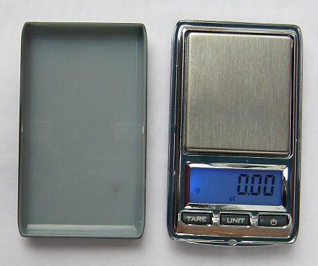 Міні ювелірні ваги до 100 гр (крок 0,01) з чохлом