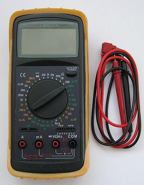 Мультиметр DT-5806
