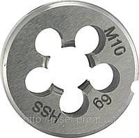 Плашка для нарезания резьбы М3  Alpen