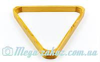 Треугольник для бильярда для шаров 57мм, дерево