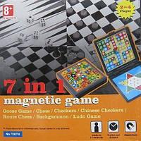 Набор настольных игр 7 в 1 (шахматы, нарды, шашки и другие)