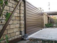 Ворота откатные консольного типа, фото 1