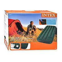 Надувной матрас Intex 66950 со встроенным ножным насосом